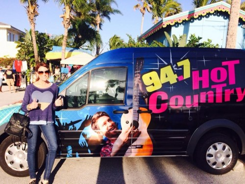 Hot Country  94.7 Van Wrap