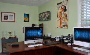 breakaway graphics office workspace